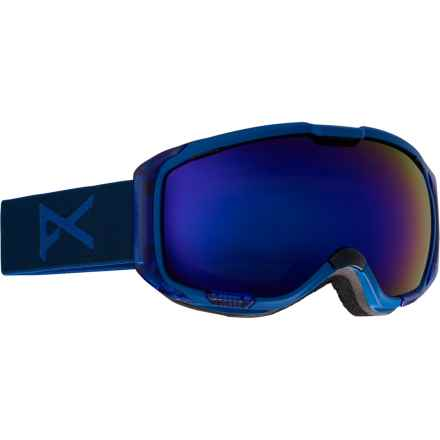 Anon M1 Ski Goggles - Extra Lens in Midnight/Blue Cobalt - Closeouts