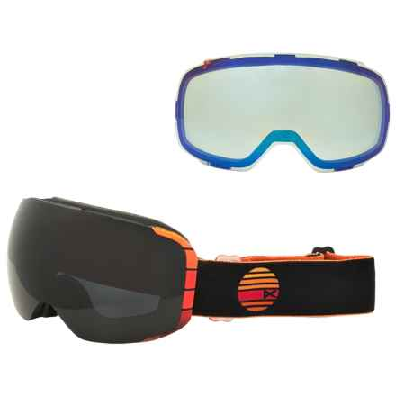 Anon M2 Pollard Pro Ski Goggles - Extra Lens in See Photo - Overstock