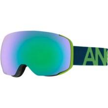 Anon M2 Ski Goggles - Extra Lens in Krypto/Green Solex - Closeouts