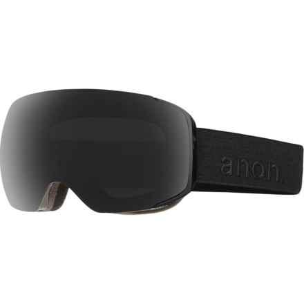 Anon M2 Ski Goggles - Extra Lens in Smoke/Dark Smoke - Closeouts