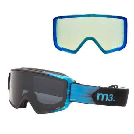 Anon M3 Ski Goggles - Extra Lens, Neck Gaiter in Merrill Pro/Dark Smoke - Closeouts