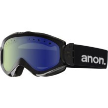 Anon Majestic Ski Goggles (For Women) in Black/Blue Lagoon - Closeouts