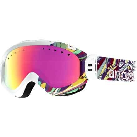 Anon Majestic Ski Goggles (For Women) in Bloom/Pink Sq - Closeouts