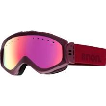 Anon Majestic Ski Goggles (For Women) in Nightout/Pink Sq - Closeouts