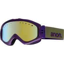 Anon Majestic Snowsport Goggles (For Women) in Pellow/Gold Chrome - Closeouts