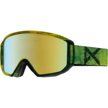 Anon Relapse Ski Goggles - Extra Lens in Dosed/Gold Chrome - Closeouts