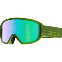 Anon Relapse Ski Goggles - Extra Lens in Grasshole/Green Solex - Closeouts