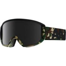 Anon Relapse Ski Goggles - Extra Lens in Guerrilla/Dark Smoke - Closeouts