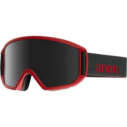 Anon Relapse Ski Goggles - Extra Lens in Ruby Red/Dark Smoke - Closeouts