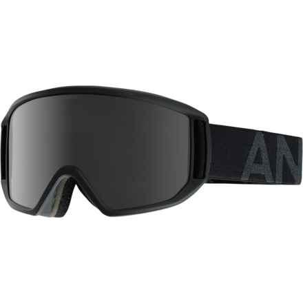 Anon Relapse Ski Goggles - Extra Lens in Smoke/Dark Smoke - Closeouts
