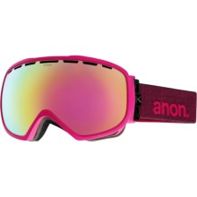 Anon Somerset Ski Goggles (For Women) in Pink/Pink Cobalt - Closeouts