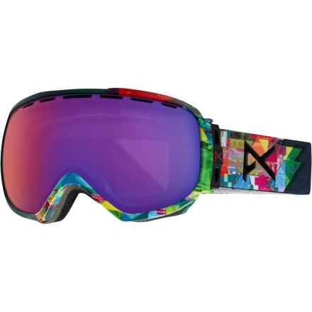 Anon Somerset Ski Goggles (For Women) in Triplet/Blue Fusion - Closeouts