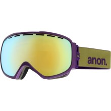 Anon Somerset Snowsport Goggles (For Women) in Pellow/Gold Chrome - Closeouts