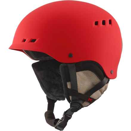 Anon Talan Ski Helmet in Ruby Red - Closeouts