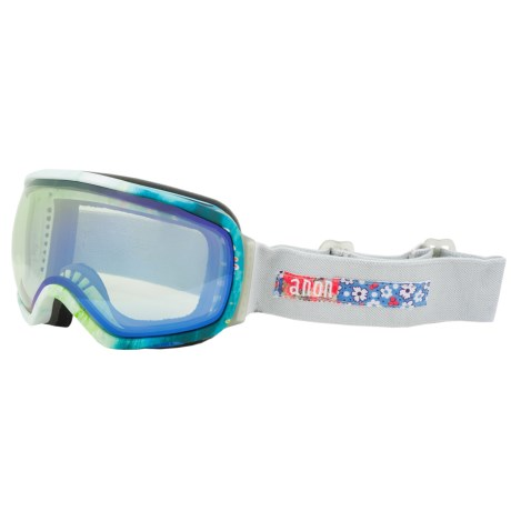 Anon Tempest Ski Goggles (For Women) in Crafty/Blue Lagoon