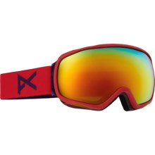 Anon Tempest Ski Goggles (For Women) in Lipstick/Red Solex - Closeouts