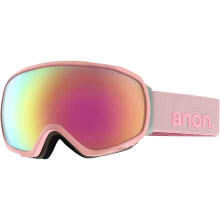 Anon Tempest Ski Goggles (For Women) in Pastel/Pink Cobalt - Closeouts