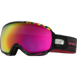 Anon Tempest Snowsport Goggles (For Women) in Slick/Pink Sq