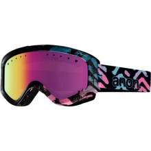Anon Tracker Ski Goggles (For Big Kids) in Arrowhead/Pink Amber - Closeouts