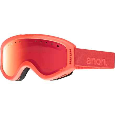 Anon Tracker Ski Goggles (For Big Kids) in Cheeto/Red Amber - Closeouts