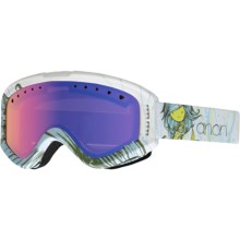 Anon Tracker Ski Goggles (For Big Kids) in Mermaid/Blue Amber - Closeouts