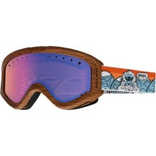 Anon Tracker Snowsport Goggles (For Big Kids) in Yetti/Blue Amber - Closeouts