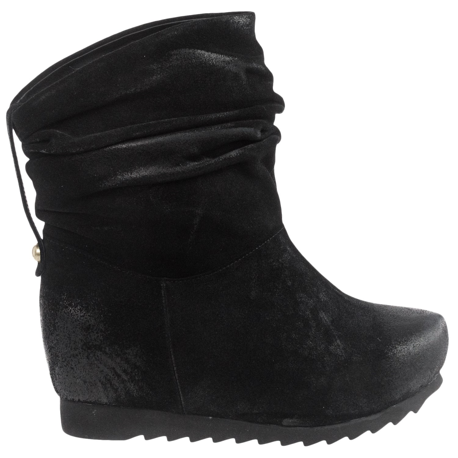Boots With Hidden Wedge Heel