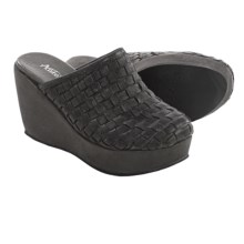 Antelope 800 Woven Leather Mule Shoes (For Women) in Black - Closeouts