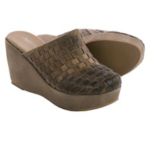 Antelope 800 Woven Leather Mule Shoes (For Women) in Taupe - Closeouts