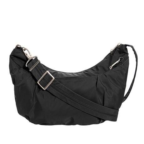 Image of Anti-Theft Classic Light Sling-Style Hobo Bag - RFID (For Women)