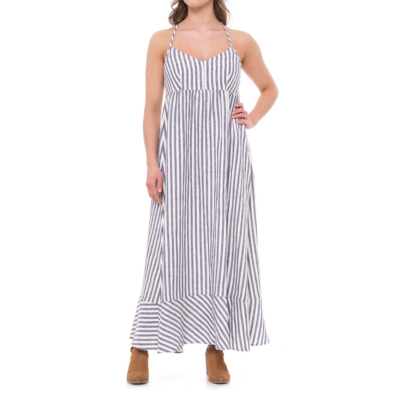b8671995af antibes-blanc-seersucker-stripe-linen-maxi-dress---
