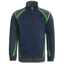Antigua Golf Jacket - Soft Shell, Full Zip (For Men) in Navy - Closeouts