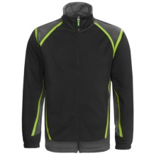Antigua Golf Jacket - Soft Shell, Full Zip (For Men) in Smoke - Closeouts