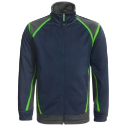 Antigua Soft Shell Golf Jacket (For Men) in Smoke