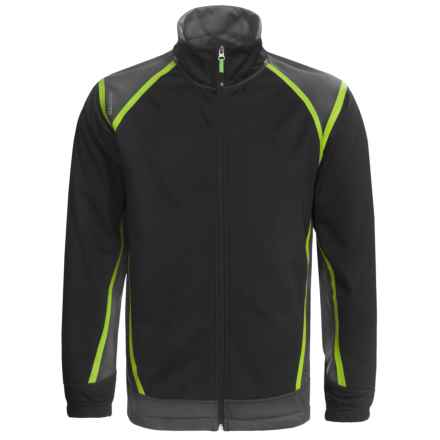 Antigua Soft Shell Golf Jacket (For Men) in Smoke - Closeouts