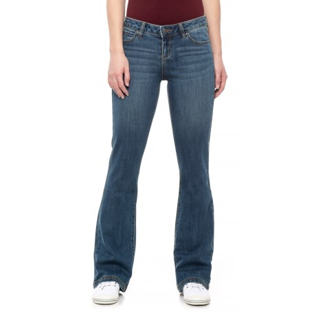 Image of Antique Blue Geneva Jeans - Organic Cotton, Bootcut (For Women)