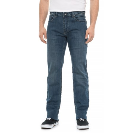 Image of Antique Blue Manchester Jeans - Organic Cotton, Slim Fit (For Men)