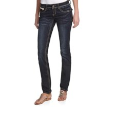Antique Rivet Sonia Skinny Jeans - Low Rise (For Women) in Madison - Closeouts