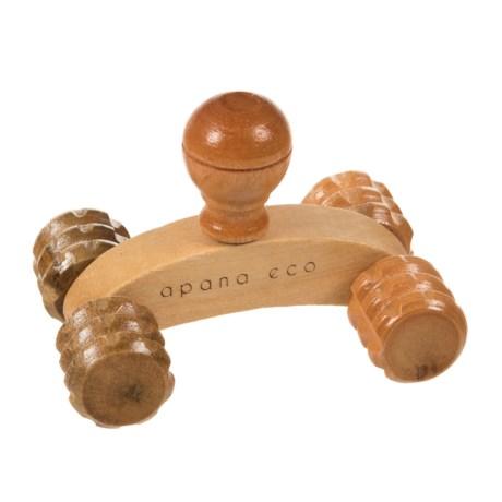 Apana Handheld Trigger Point Mini Massager in Natural