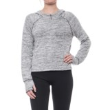 Apana Hooded High-Low Sweater (For Women)