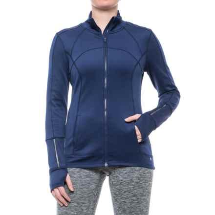 Apana Knit Jacket - Full Zip (For Women) in Deep Indigo - Closeouts