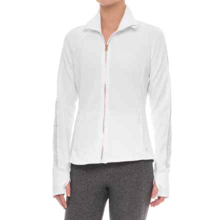 Apana Knit Jacket - Full Zip (For Women) in White - Closeouts