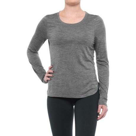 Apana Power Mesh Yoga Shirt - Long Sleeve (For Women)