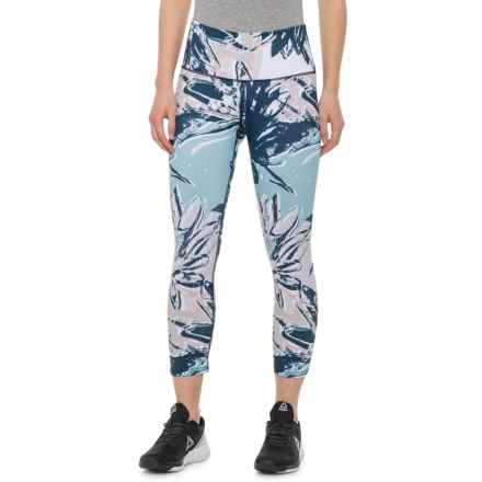 Apana Printed Capris (For Women) in Sketch Floral