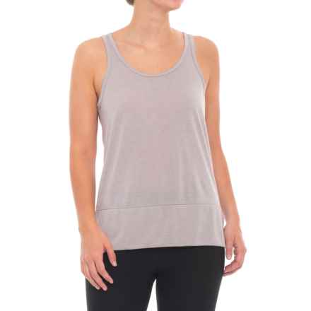 Apana Scoop Back Tank Top (For Women) in Gull Grey Heather/Gull Grey - Closeouts