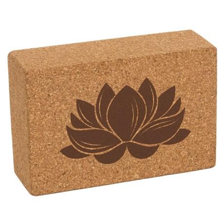Apana Yoga Block in Tan