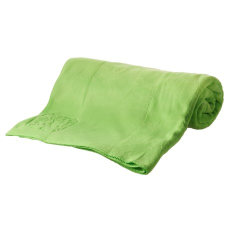 Apana Yoga Towel in Mint Sizzle