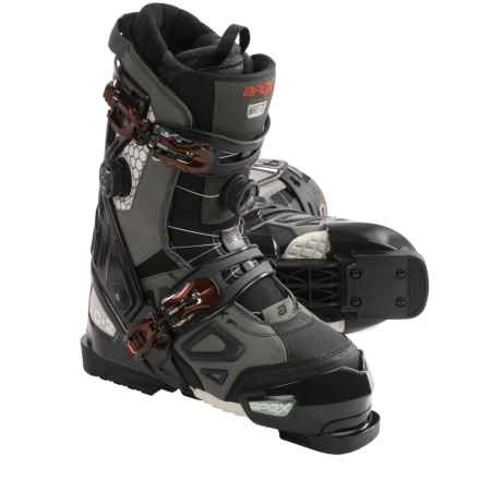 Apex MC-2 Alpine Ski Boots - BOA® (For Men) in Grey/Black - Closeouts