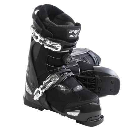 Apex MC-S Alpine Ski Boots - BOA® (For Men) in Black - Closeouts