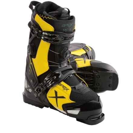 Apex MC-X Alpine Ski Boots - BOA® (For Men) in Yellow/Black - Closeouts